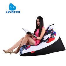 levmoon beanbag sofa chair transformers seat zac comfort bean bag