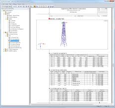 rf tower structure generation of lattice towers dlubal software