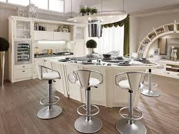 glamorous silver stainless steel bar stools for kitchen island