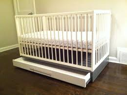 Ikea Convertible Crib by Build Drawer For Ikea Gulliver Crib Img 2555 Jpg 2592 1936