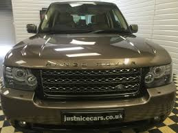 bronze range rover used land rover range rover 4 4 tdv8 vogue 4dr auto command shft