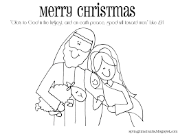 nativity coloring free christmas recipes coloring pages