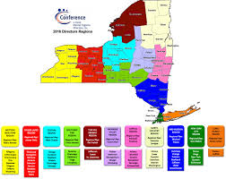 Nys Map Regional Map Nys Conference Of Local Mental Hygiene Directors Inc