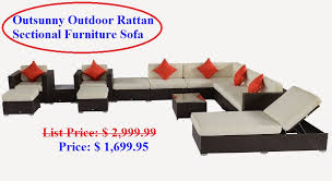 outdoor furniture sofa gold pearl tips