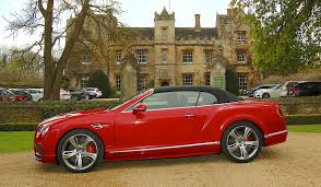 bentley red continental gt speed convertible road test
