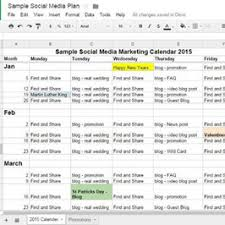 Social Media Plan Social Media Strategy Template To Download