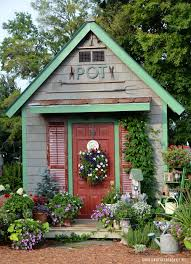 She Sheds Potting Shed Featured In She Sheds A Room Of Your Own And