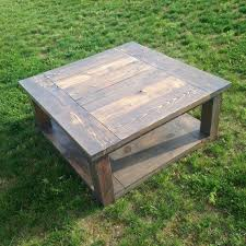 Furniture Homemade Coffee Table Solid Wood Coffee Table by Best 25 Farmhouse Coffee Tables Ideas On Pinterest Palette