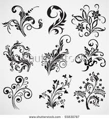 flower ornament vector pattern stock vector 55830787