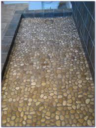 broken tile mosaic shower floor tiles home design ideas