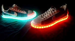 shoes with lights on the bottom diy cool light up shoes light up shoes project ideas