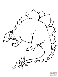 stegosaurus coloring pages free coloring pages