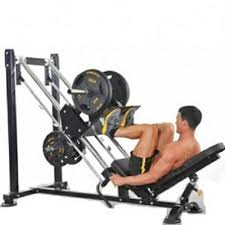Powertec Weight Bench Powertec 45 Degree Leg Press Sled Safety Squat Calf Raise P Lp16
