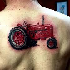 tattoos ideas tractor tattoos