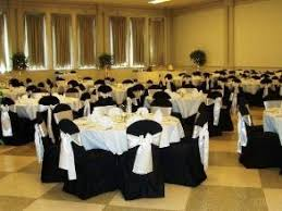 Black And White Chair Covers Black Wedding Table Cloth And Chair Covers With Black Chair