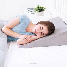 best bed wedge pillow best sleep apnea position pillow 2017 buyer s guide reviews