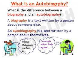 biography an autobiography difference writing year 6