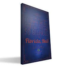 florida gators fight song canvas print sun sentinel store florida gators fight song canvas print