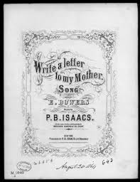 write a letter to my mother library of congress