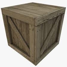 Wooden Crate Nightstand Wooden Crate