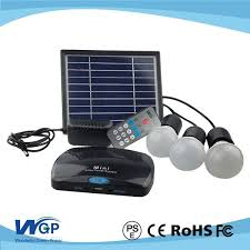 Solar Home Lighting System - mini solar home lighting system 3w led solr lights with mobile