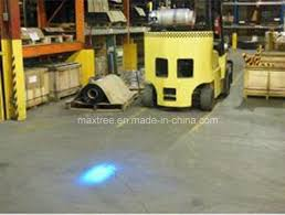 blue warning lights on forklifts china 10w blue led spot point warning light for forklift machinery