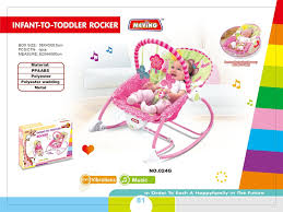 Pink Swinging Baby Chair Baby Swings Baby Gear Baby
