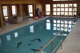 Indoor Pool Design Pool With Therapy Design Colts Neck New Jersey Residential Pool