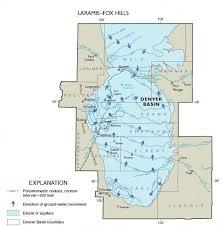 Arizona Aquifer Map by Maps Of Laramie Fox Hills Aquifer