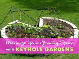 Permaculture Vegetable Garden Layout Keyhole Gardens Can Maximize Growing Space And Make Harvesting
