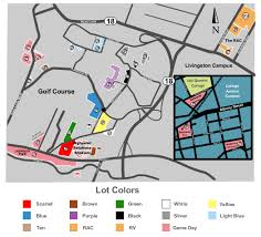 rutgers football parking map parking rutgers scarlet knights vs michigan state spartans