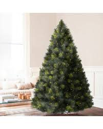 christmas tree artificial deal on 7 5 balsam hill scotch pine prelit artificial