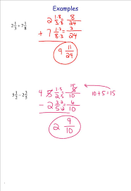 adding and subtracting fractions 7th grade pre algebra mr burnett