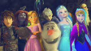 rise brave tangled frozen dragons family mv