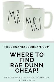 where to find rae dunn for cheap the organized dream