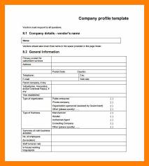 Resume Footer 12 Profile Company Sample Students Resume Company Profile