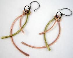 vire earrings framing wire earrings tutorial jewelry journal