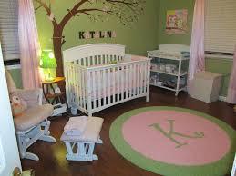 custom initial rug for an adorable lime u0026 light pink nursery