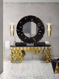impressive black and gold decor ideas for luxury bathrooms