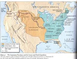 Lewis And Clark Expedition Map Louisiana Purchase Treaty Pictures Posters News And Videos On