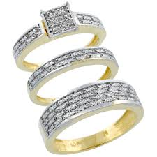 wedding rings sets his and hers for cheap his and wedding ring set williams