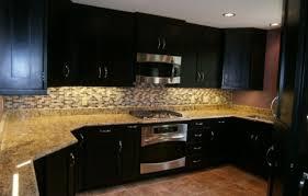 Kitchen Backsplash Ideas For Dark Cabinets MADA PRIVAT - Kitchen backsplash with dark cabinets