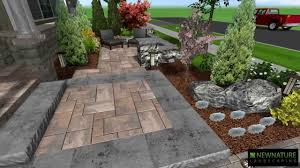 Patio Design Pictures by New Nature Landscaping Front Patio Design Youtube
