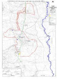 Map Letters Gazajericho Agreement Letters