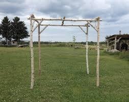 how to build a chuppah white birch wedding chuppah