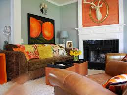 Burnt Orange Living Room Home Design Ideas - Orange living room decorating ideas