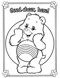 care bears sunshine bear coloring printable coloring