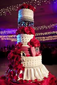 and white wedding cake lace and drapes the cake zone florida