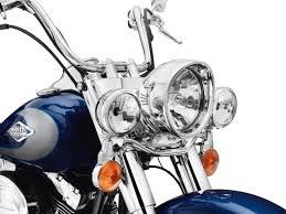 harley davidson auxiliary lighting kit auxiliary lighting kit chrome fl softail models 69287 07