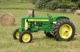 john deere 420 color